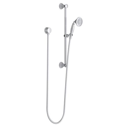 Fitzgerald Personal Shower Set with Hand Shower - Polished Chrome