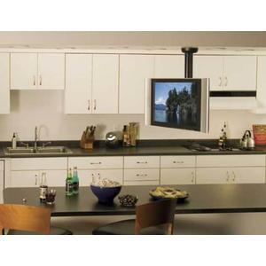 """Sanus - Black Full-Motion Ceiling Mount for 23"""" - 40"""" flat-panel TVs"""