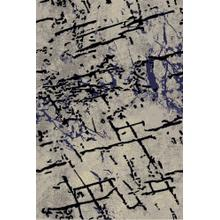 See Details - Lifestyle 804 Area Rug by Rug Factory Plus - 2' x 3' / Navy