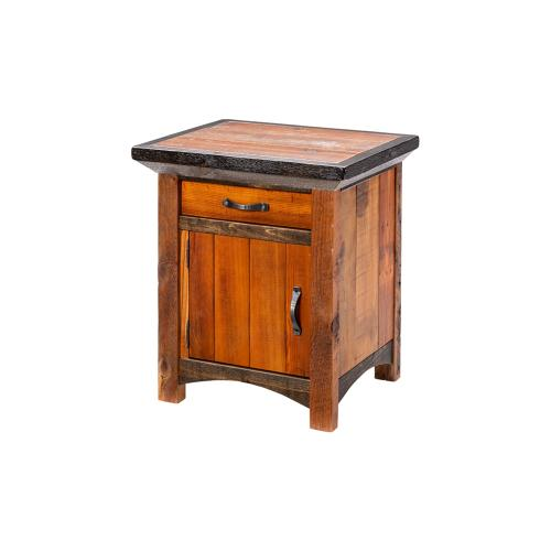 Mossy Oak Natchez Trace 1 Door 1 Drawer Nightstand Hinged Left