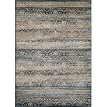 See Details - Zahara All Over Diamond - Black-Light Blue-Oatmeal 0466/0440