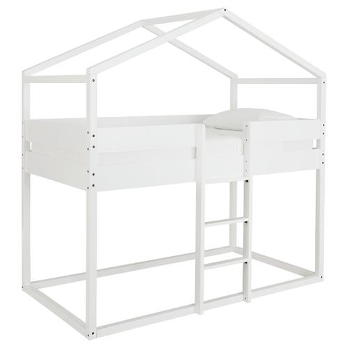 Signature Design By Ashley - Flannibrook Twin Over Twin House Loft Bed