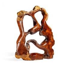 Burstyn Grande Teak Root Sculpture