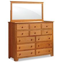 See Details - Shaker 12-Drawer Bureau, 58'w x 21 'd x 47 'h