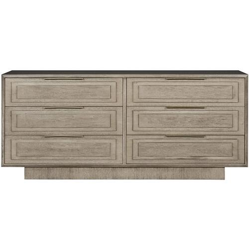 Briarwood Six Drawer Chest W322D