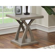 Jocelyn End Table, Grey