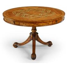 Ball & claw centre table (Satinwood)
