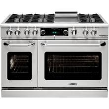 """View Product - Connoisseurian 48"""" Dual Fuel Self Clean Range"""