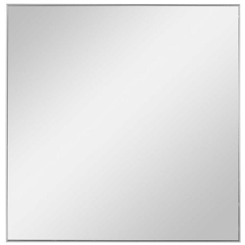 Alexo Silver Square Mirror