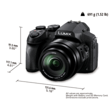 See Details - DMC-FZ300 Point & Shoot