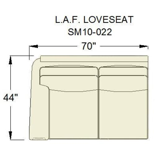 Product Image - Living Room Sage LAF Loveseat