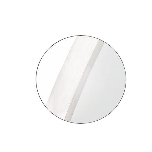Kit Round Mirror Satin Nickel