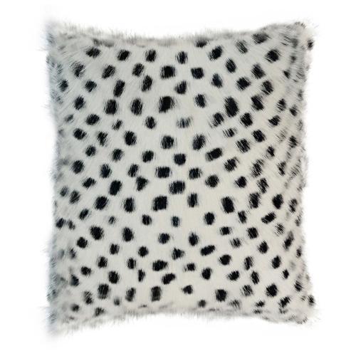 "Tov Furniture - Genuine Goatskin 16"" Pillow"