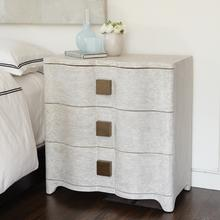 Toile Linen Bedside Chest