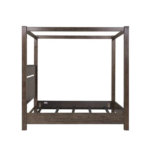 King California Canopy Bed
