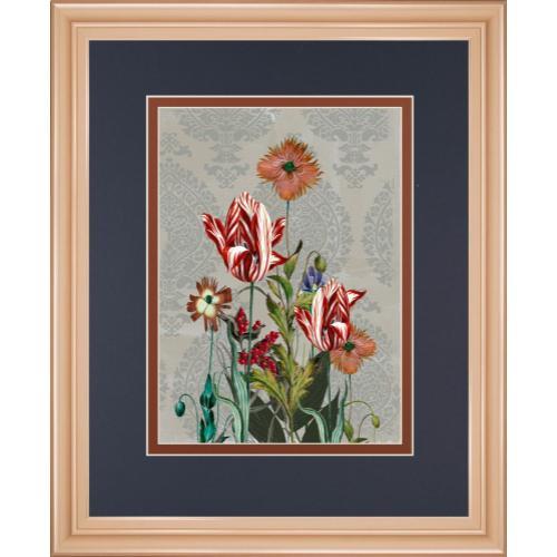 """Summer Flowers Il"" By Ken Hurd Framed Print Wall Art"