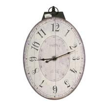 35002  Thaddeus Oval Wall Clock