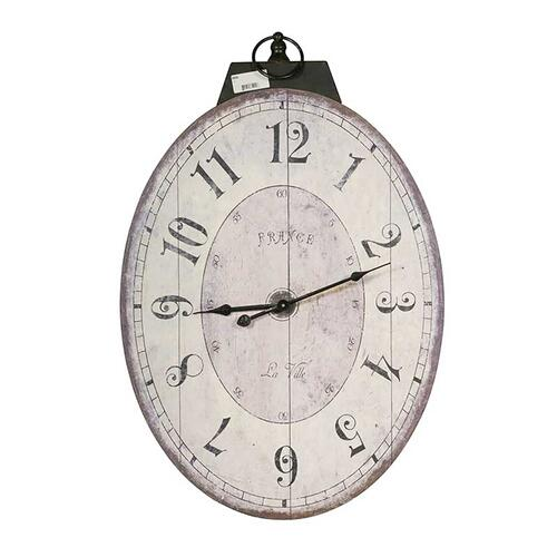 Thaddeus Oval Wall Clock