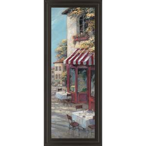 """Classy Art - """"Red Flower I"""" Framed Print Wall Art"""