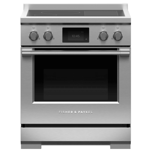 "Induction Range, 30"", 4 Zones with SmartZone, Self-cleaning"