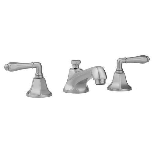 Jaclo - Antique Copper - Astor Faucet with Smooth Lever Handles & Fully Polished & Plated Pop-Up Drain