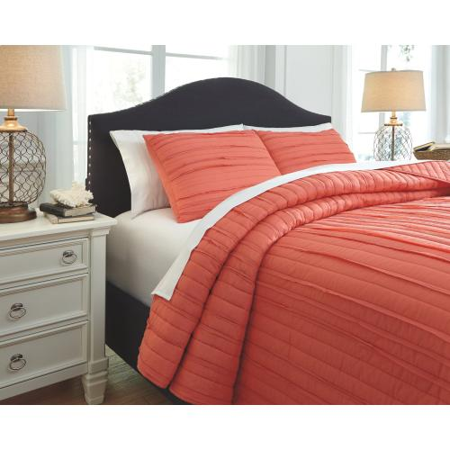 Solsta 3-piece Queen Coverlet Set