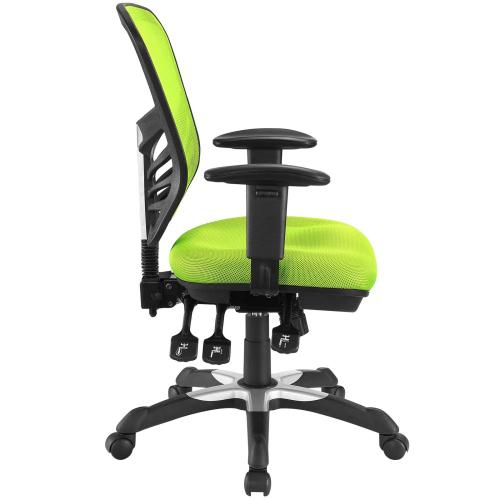 Articulate Mesh Office Chair in Green