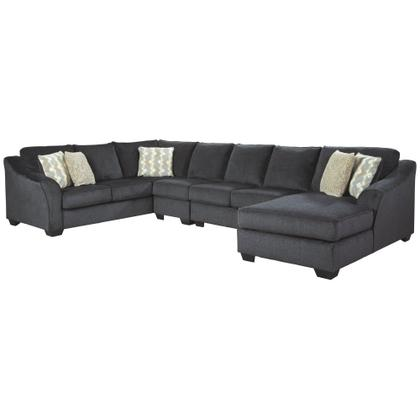 See Details - Eltmann 4-piece Sectional With Chaise