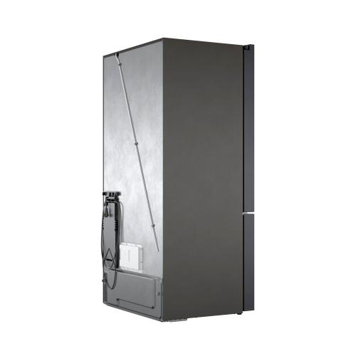 """800 Series French Door Bottom Mount Refrigerator Black stainless steel B36CT80SNB """"OUT OF BOX"""""""