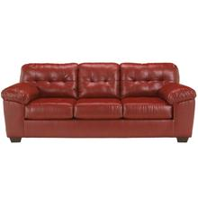 Signature Design by Ashley Alliston Sofa in Salsa Faux Leather