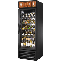 Glass Door Wine Merchandiser