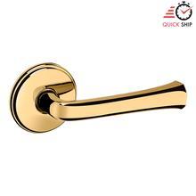 See Details - Lifetime Polished Brass 5112 Estate Lever with 5075 Rose