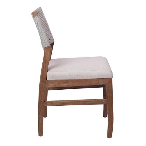 Pierre Rope Dining Side Chair, Gray