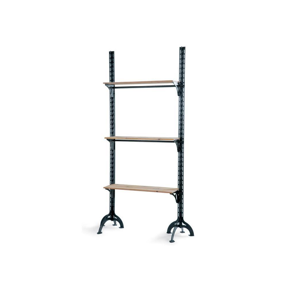See Details - Lfd - Small Three Shelf Wall Unit
