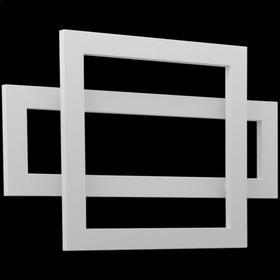 "Cadiz Towel Warmer 23.5"" x 35.5"" Plug-In White"