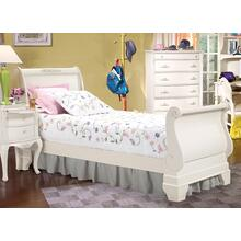 See Details - French Style Sleigh Bed