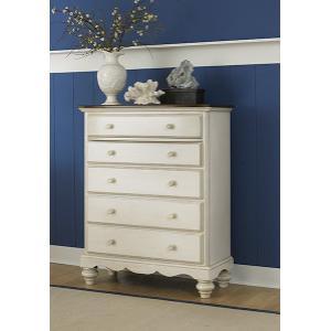 Hillsdale Furniture - Pine Island Chest - Old White
