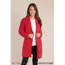 Cozy Up Cardigan - S/M Red (2 pc. ppk.)