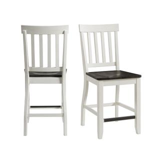 See Details - Kayla Two Tone Counter Height Side Chair Set