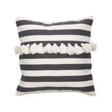 Product Image - 20x20 Hand Woven Stripe Pillow Black