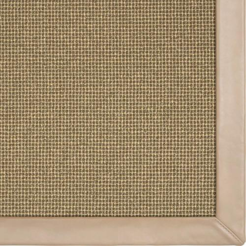 Needlepoint 3 Coffee Bean 5'x8' / Canvas Border