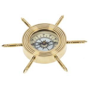 Nautical Wheel Compass