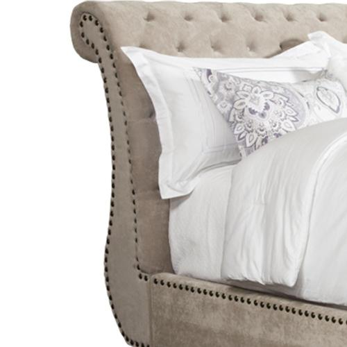 CLAIRE - KHAKI King Headboard 6/6
