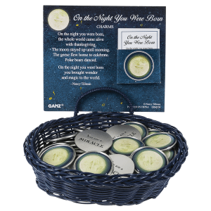 Charms in a Basket - Moon (24 pc. ppk.)