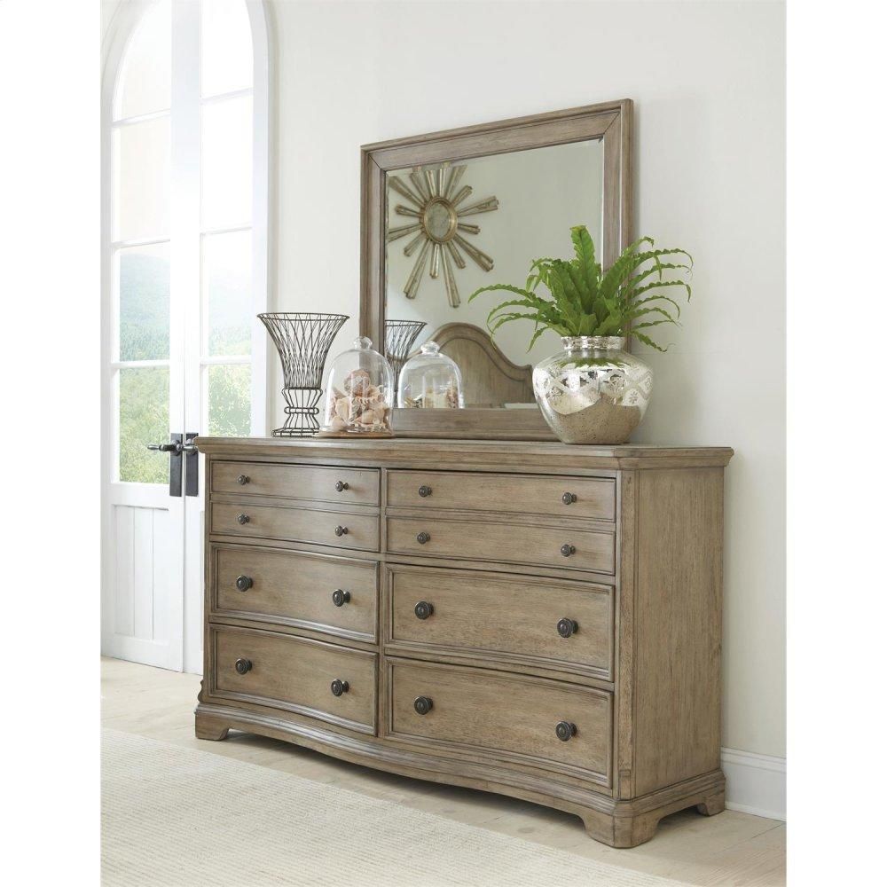 See Details - Corinne - Six Drawer Dresser - Sun-drenched Acacia Finish