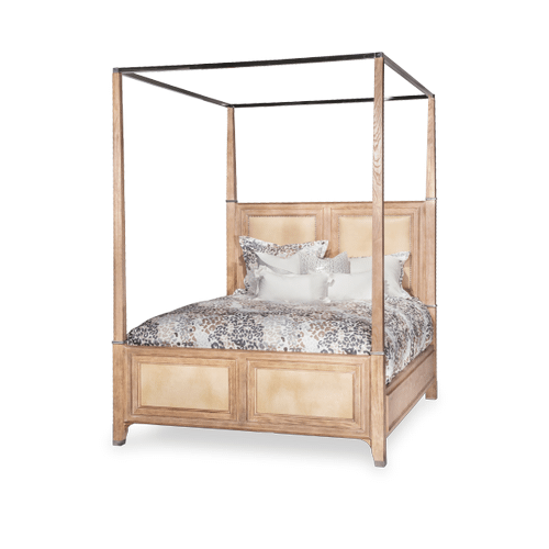 Cal King Canopy Bed (5 pc)