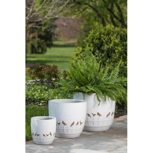 Birds on a Wire Planter - Set of 3