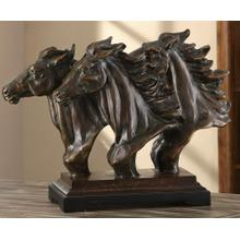 """See Details - Running Free Statue 23 x 7.5 x 17.5""""Ht."""