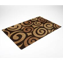 Chocolate Swirl Rug
