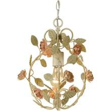 AF Lighting Ramblin' Rose Mini Chandelier, 7051-1H